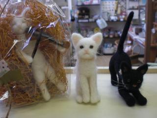 羊毛猫ちゃん