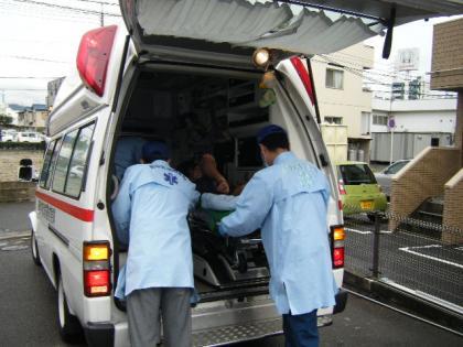 in救急車
