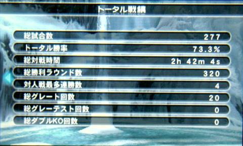 DOAD-002トータル戦績2★