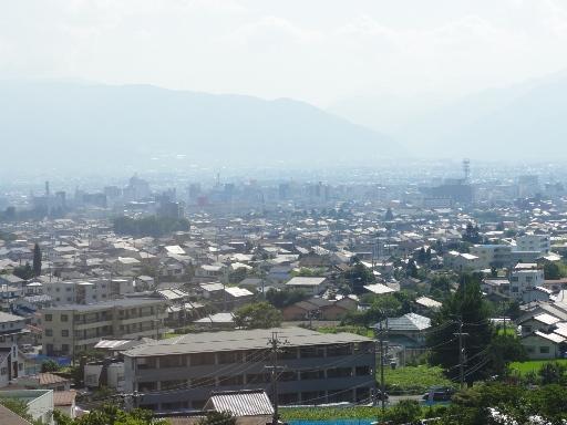 松本市内_宿からの眺め