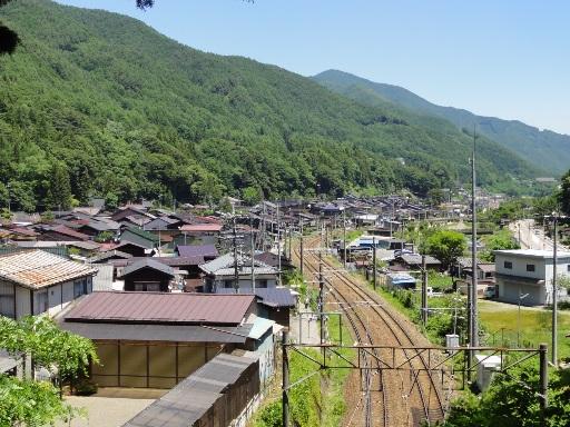 奈良井宿-全景