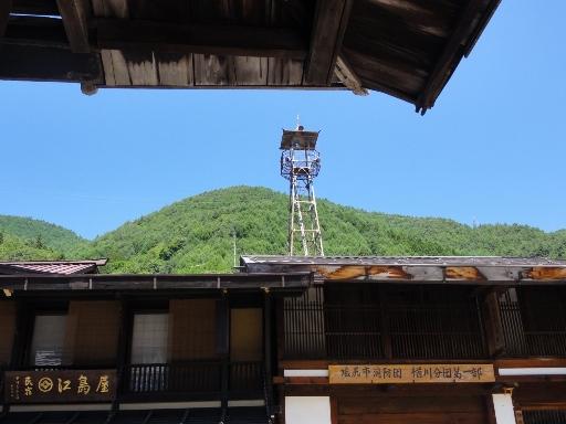 奈良井宿-火の見櫓
