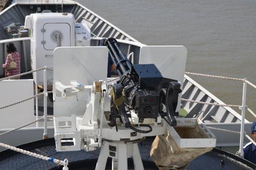 練習船こじま-20mm機関砲