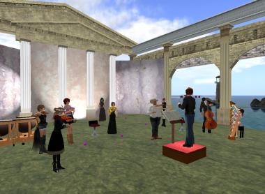 オーケストラ練習風景