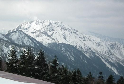 110424-焼岳