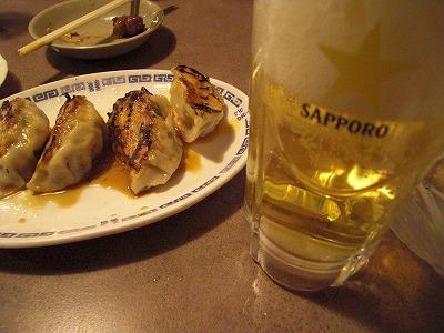 餃子&ビア