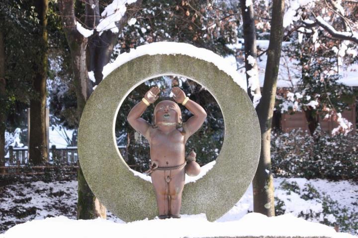 雪の曲線5