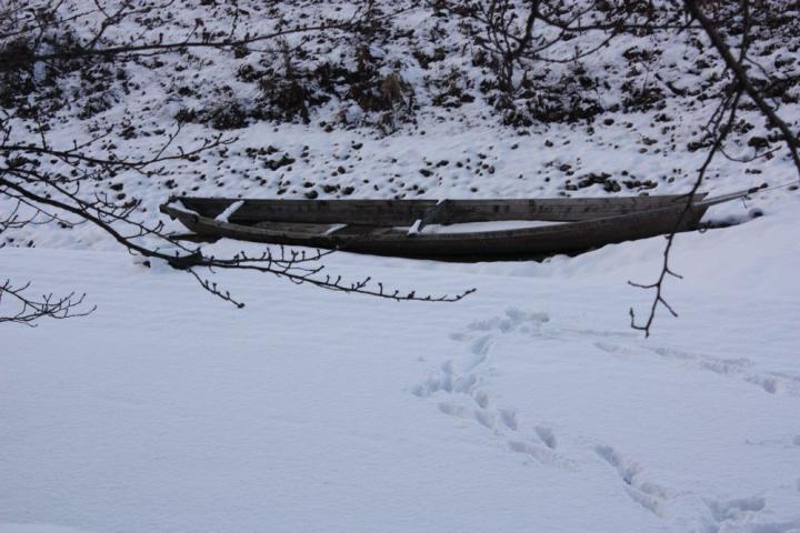 雪の鵜飼乗船場10
