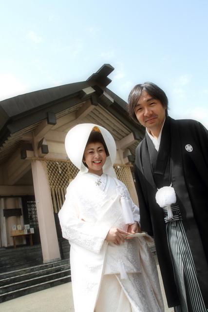 廣田神社 青森市 神前 結婚式 スナップ 写真 撮影