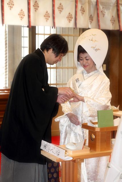 青森市 結婚式 スナップ 写真 撮影 神前結婚式 廣田神社