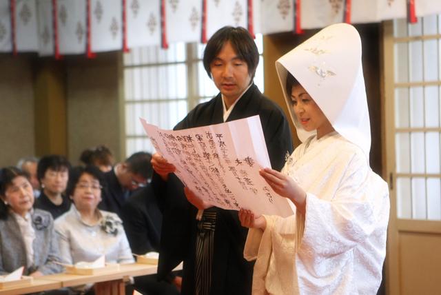 青森市 廣田神社 結婚式 神前 挙式 スナップ 写真 撮影