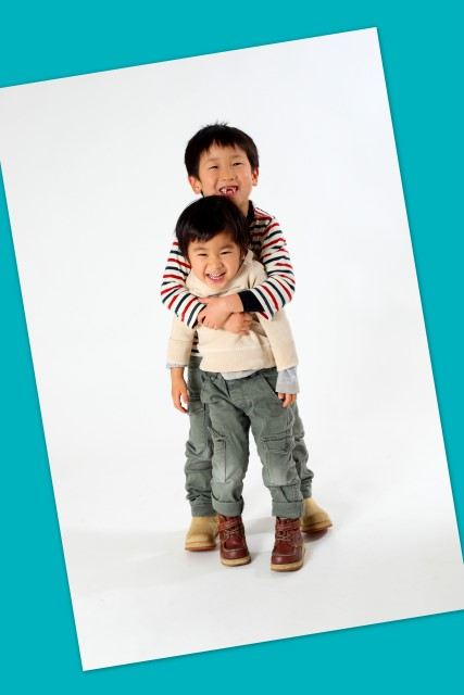 家族写真 年賀状用 弘前 写真撮影