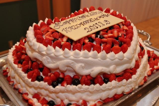アントルメサトウ ウェディングケーキ