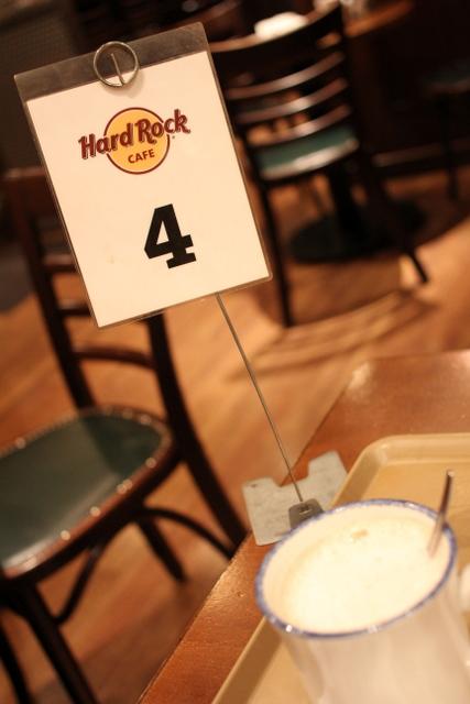 出張第4日目 ハードロックカフェ