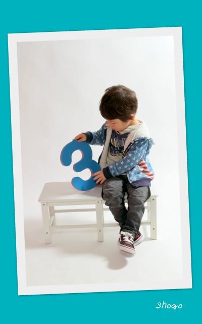 お誕生日 記念撮影 弘前 写真 スナップ 子供写真