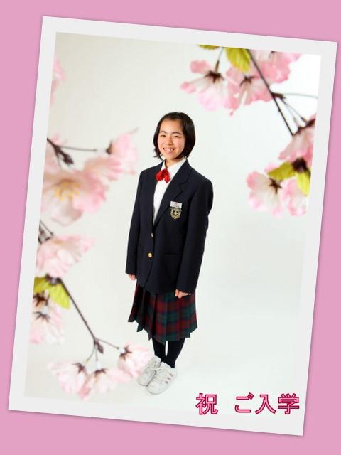 弘前 写真 撮影 中学 入学 記念