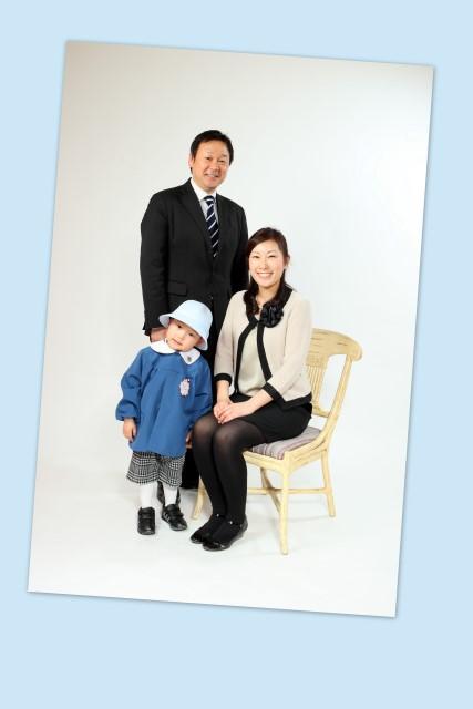 家族 写真 撮影 弘前 入園 記念