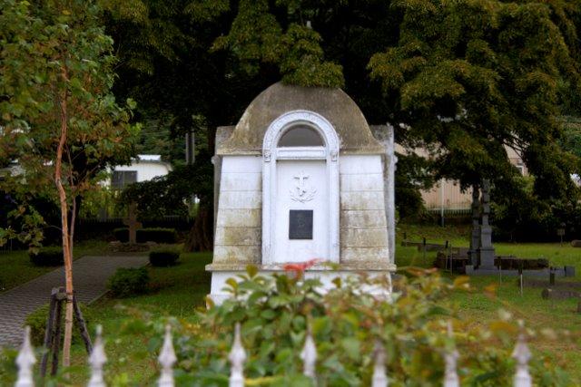 函館 外人墓地
