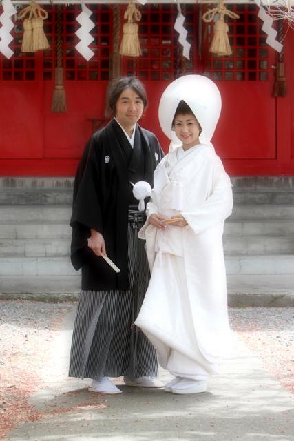 廣田神社 青森市 神前結婚式 スナップ 写真 撮影
