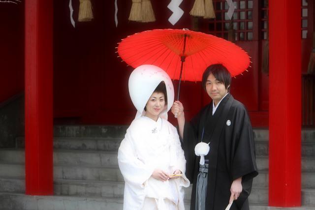青森市 廣田神社 神前結婚式 スナップ 写真 撮影