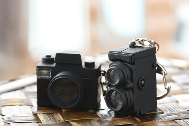 カメラ キーホルダー