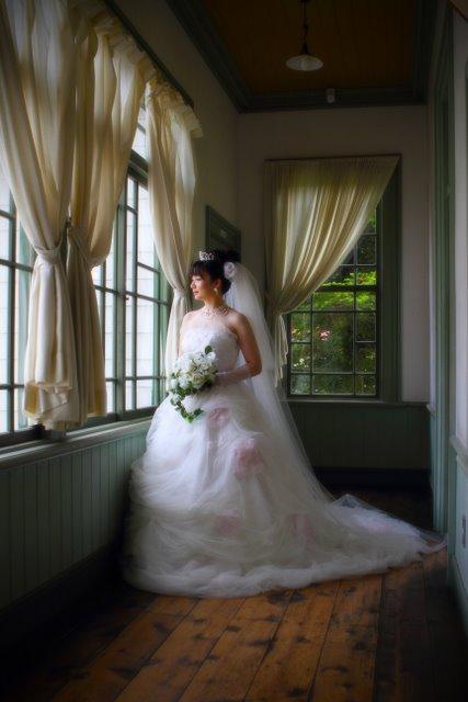 婚礼 前撮り 弘前 ロケーション 写真 撮影 旧弘前市立図書館