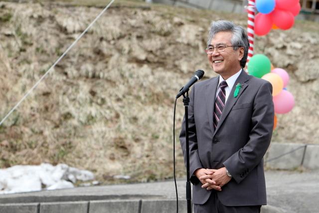 葛西弘前市長