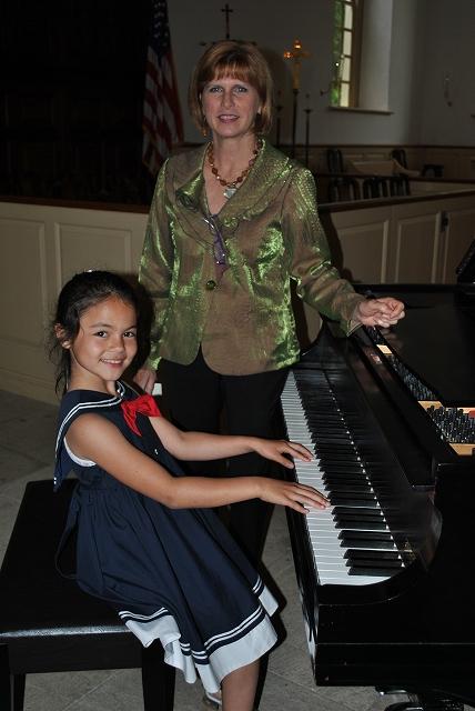 ピアノの先生とプー