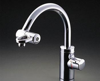 1F洗面台の水栓