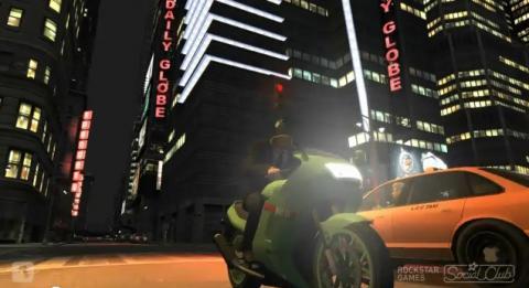 GTA4 - よくあるバイクの事故映像