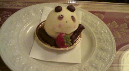 アルション_パンダのケーキ