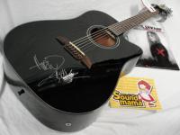 Alvarez RD20-SC Black アヴリル・ラヴィーンサイン入りギター!