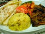 エスニカン・スリランカ料理「コートロッジ」にて。