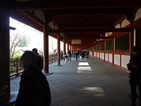 回廊です~