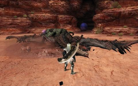 双火竜レウス捕獲