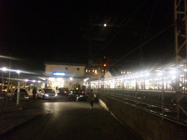 中書島駅(夜景)_2011-10-11