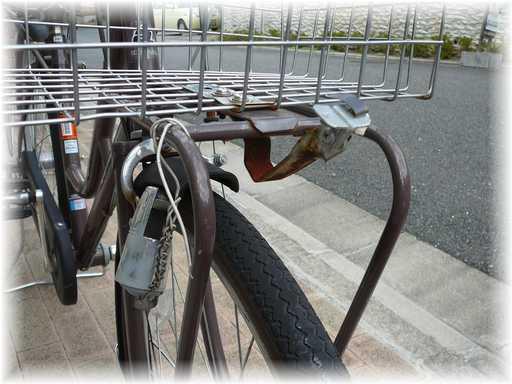 20110918自転車ランプ修理