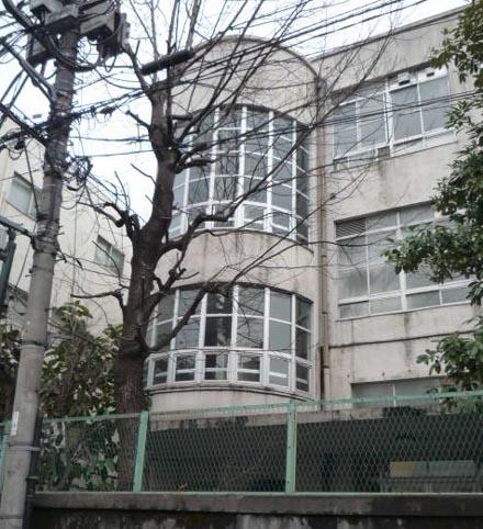 旧新宿区立第五中学校①