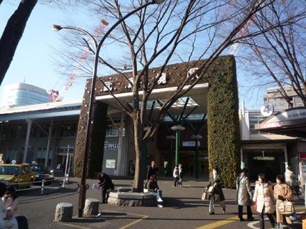 武蔵境駅の緑化①