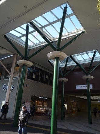 武蔵境駅の緑化④