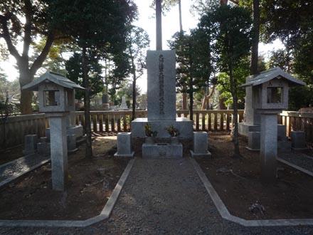 東郷平八郎の墓