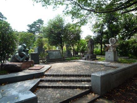 岡本太郎のお墓①