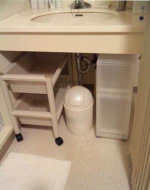 洗面台下無印