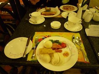 瀋陽ホテル朝食