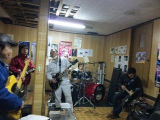 バンド練習