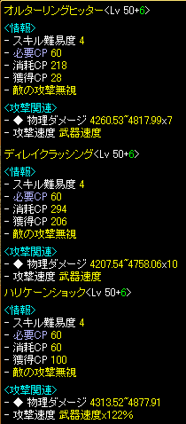 戦士ダメ比較 11.06