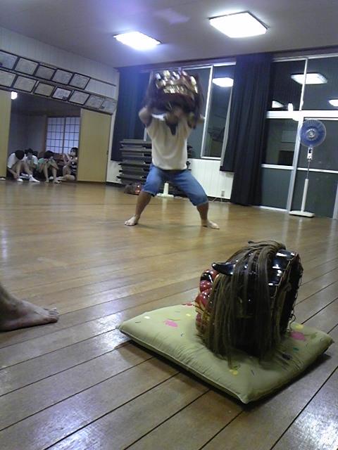 獅子練習 上原