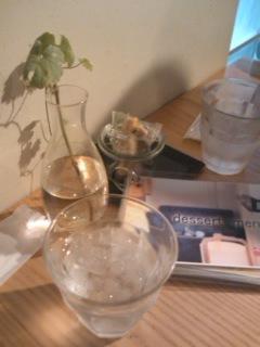 テーブル@pipin cafe