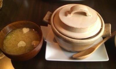からあげ丼before@Tsubaki CAFE