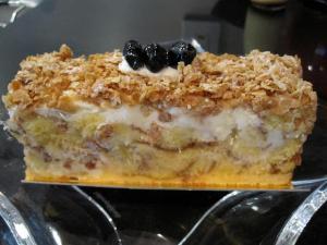 米粉の黒豆ケーキ